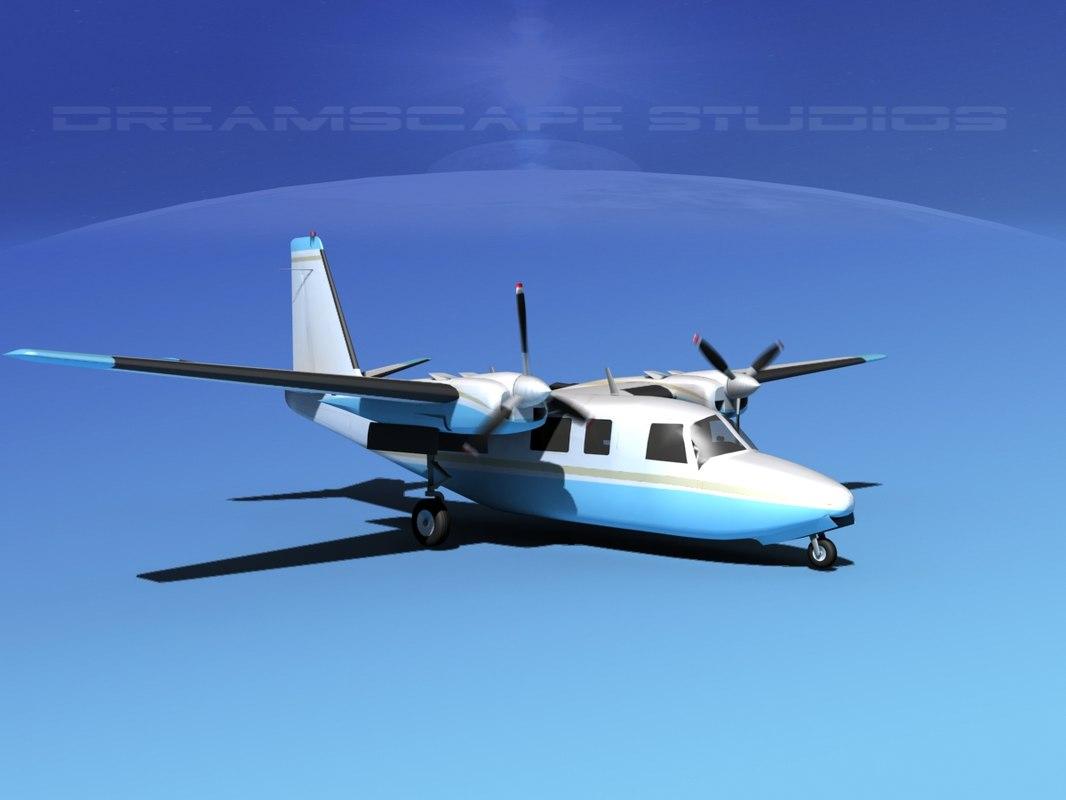 3d propellers aero commander 560