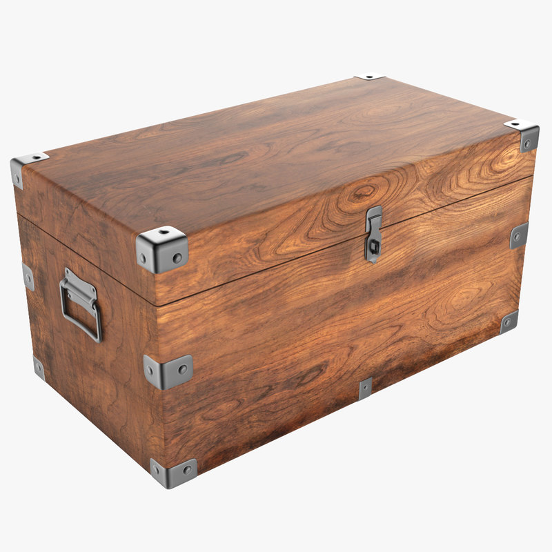wooden chest max