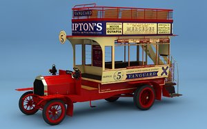 3d model london vanguard omnibus