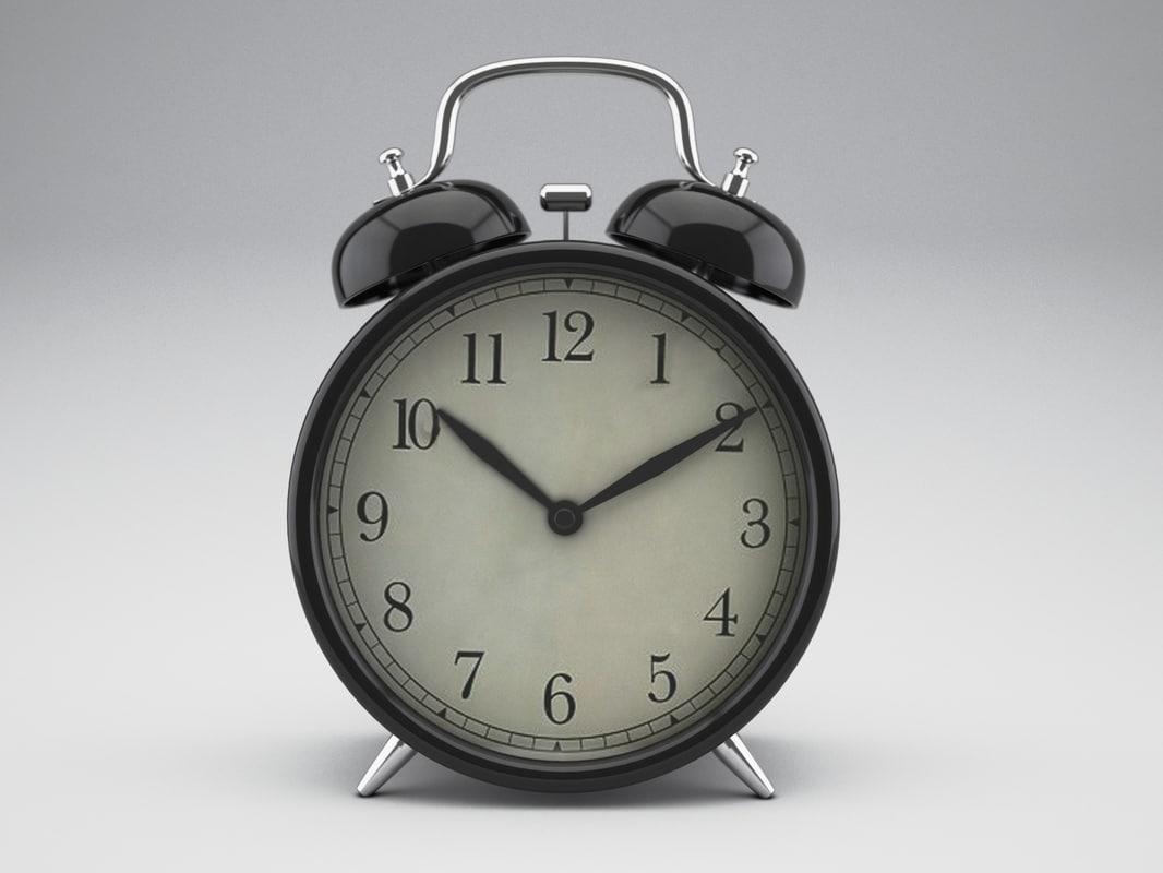 3d ikea alarm clock model