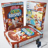 3d cocoa krispies