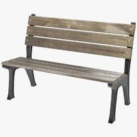 bench 1 obj