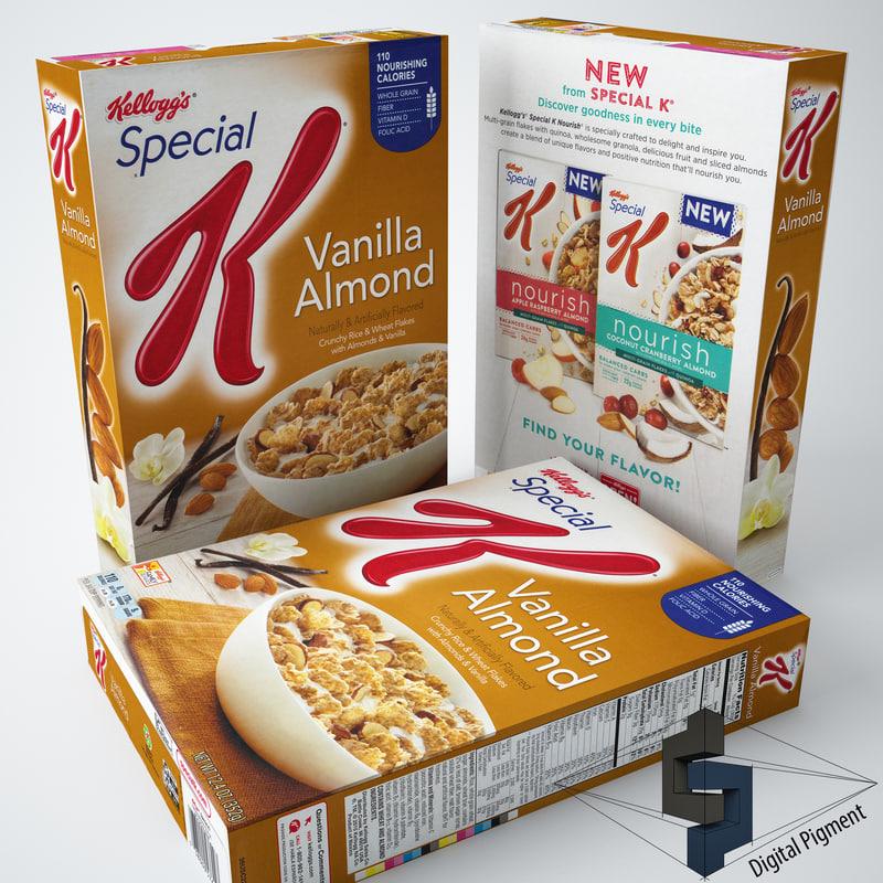 3ds special k vanilla almond