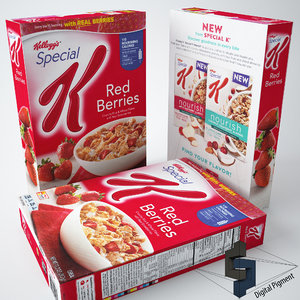 3d max special k red berries