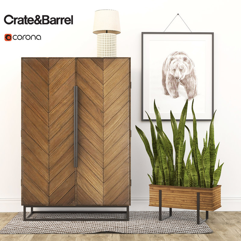 estilo cabinet 3d model