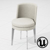unreal flexform feelgood chair 3d 3ds