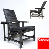 3d chair cassina
