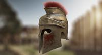 c4d spartan helmet