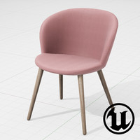3d model unreal halle capri multiwood