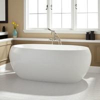 c4d henderson acrylic bath