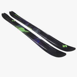 3d black diamond amperage skis