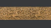 Asian Bas-Relief 2 3D Scan
