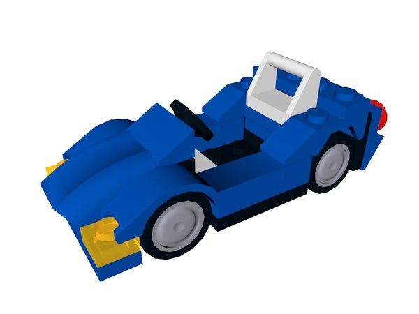 lego sports car 3ds