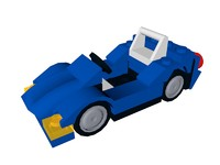 lego sports car 3ds