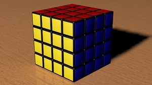 rubic cube 3d 3ds