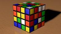 rubic cube 3d max