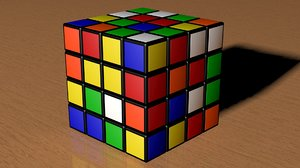 3d 3ds rubic cube