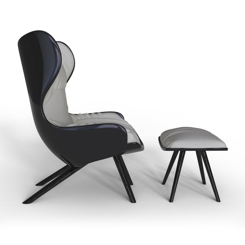 cinzano modern style 3d model
