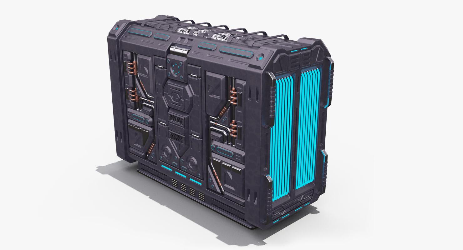 sci fi generator max