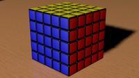 rubic cube 3d 3ds