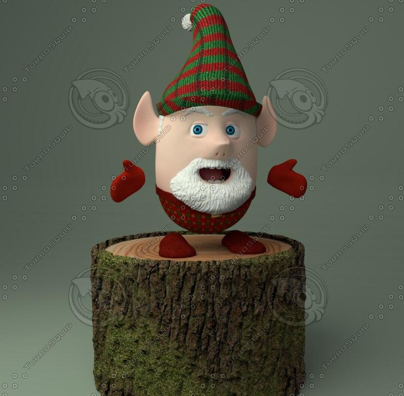 christmas elf gnome blend