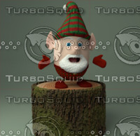 christmas elf gnome blend