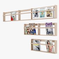 magazine 3d fbx