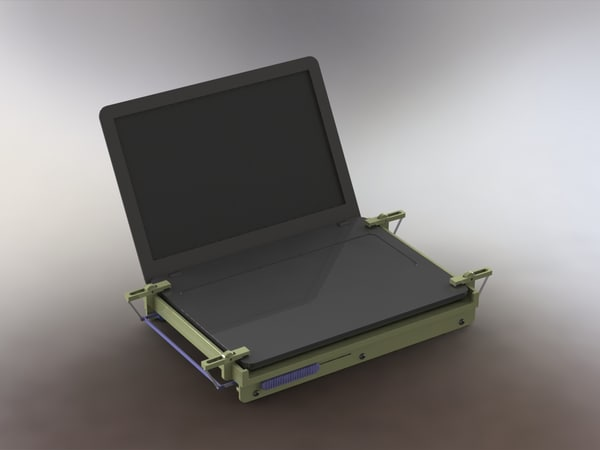 3ds laptop cooling pad holder