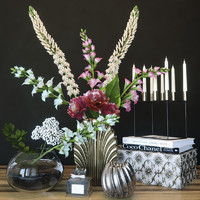 Flower decorative set