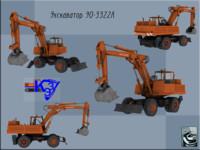 Excavator EO-3322 A
