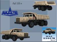 3d model of maz 530