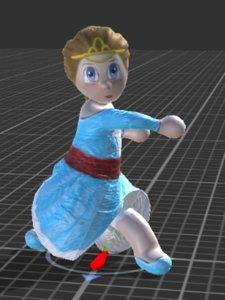 free x model little princess
