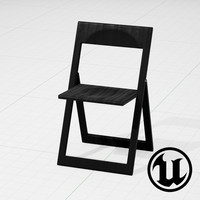 3d unreal magis aviva chair
