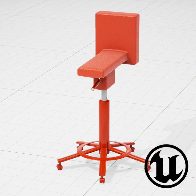 3d unreal magis 360 chair