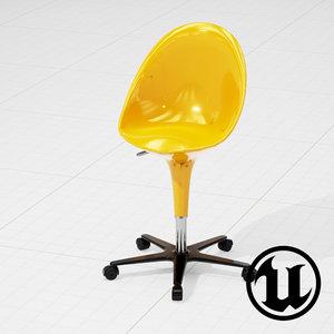 unreal magis bombo chair 3d model