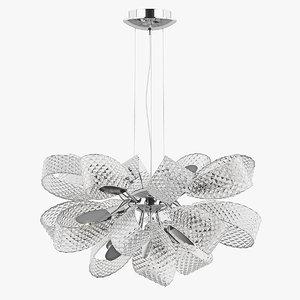 chandelier 820110 bk-md199-11 giambo 3d max
