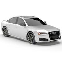 Audi S8 Plus (low poly)