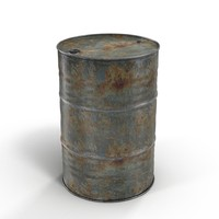 Steel Barrels rusty #3