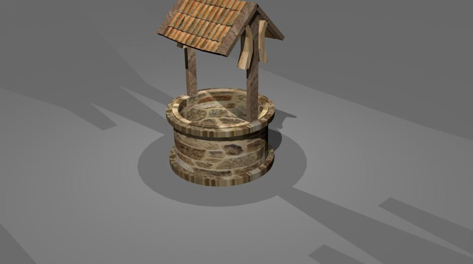 water source 3d model