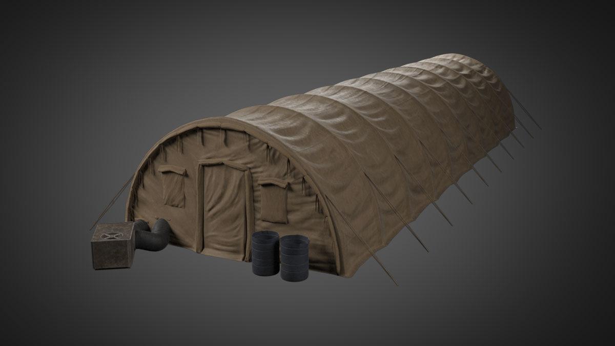 military tent max