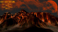 3d model volcano