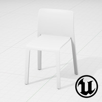 3d model unreal magis chair ue4