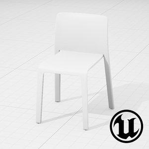 3d model unreal magis chair ue4