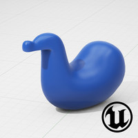 unreal magis dodo chair 3d model