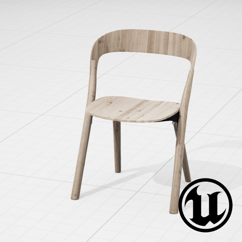 Unreal Magis Pila Chair 3d Fbx