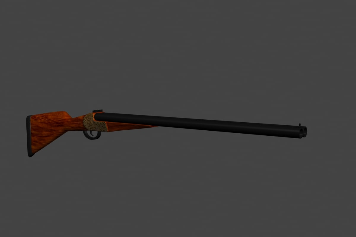 3d weapon shotgun