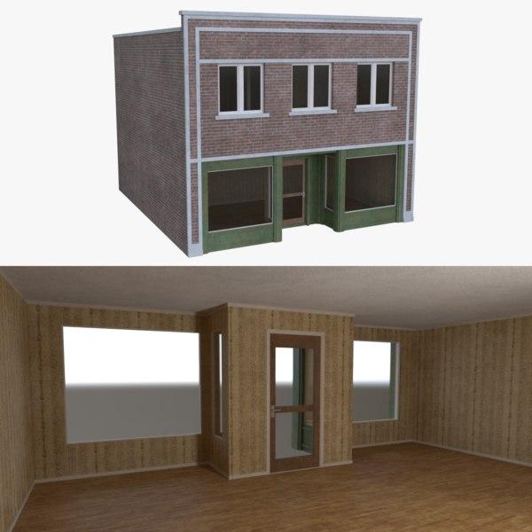 obj store interior buildings