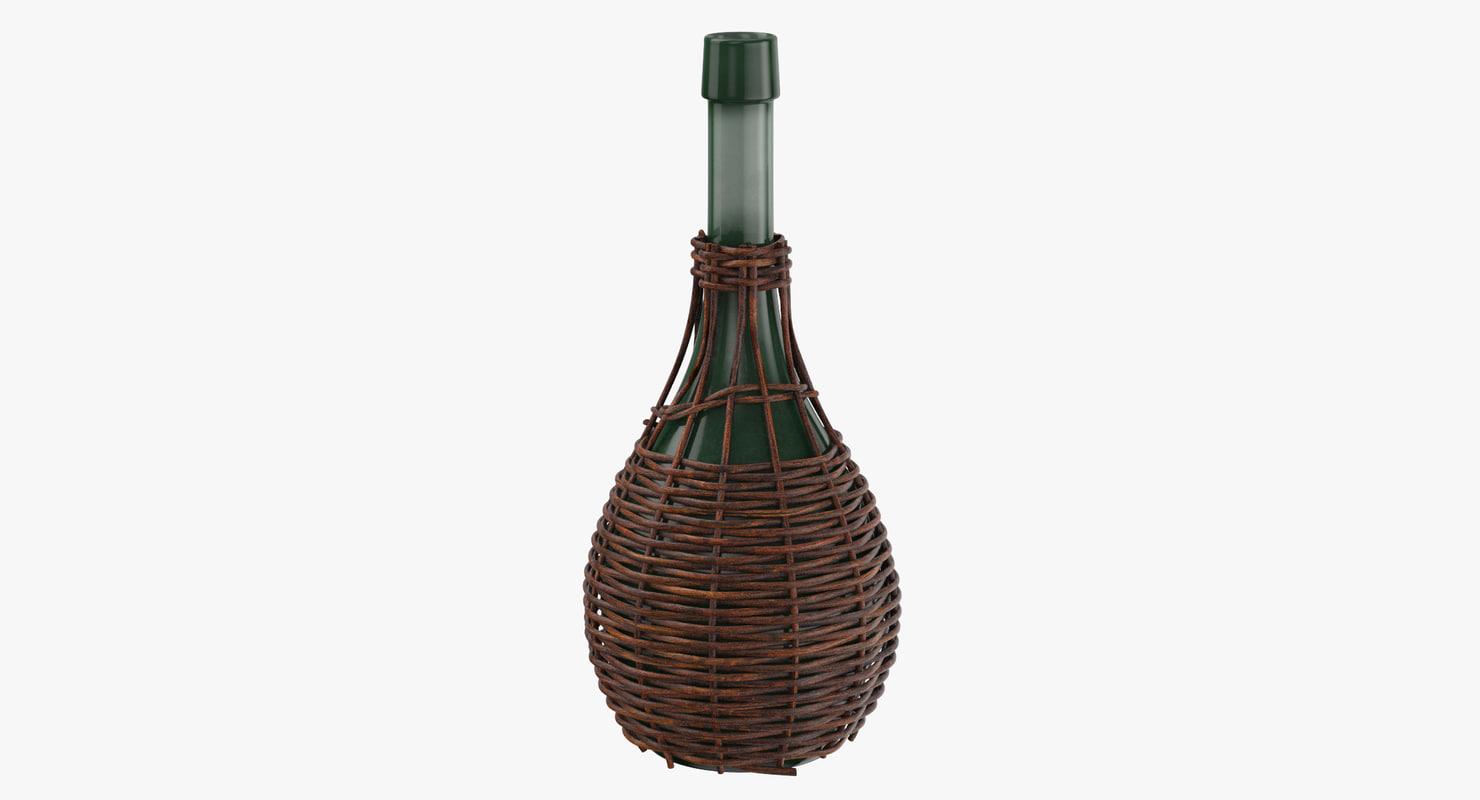 jug basket 01 3d model
