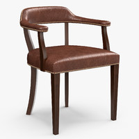 Rupert Bevan - Croft leather chair