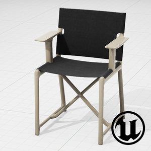 unreal magis stanley chair 3d x